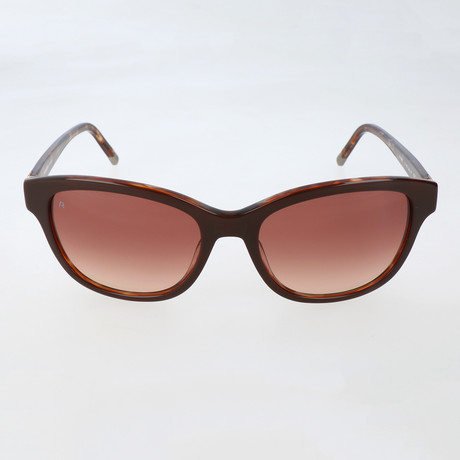 Moritz Sunglass // Red + Brown