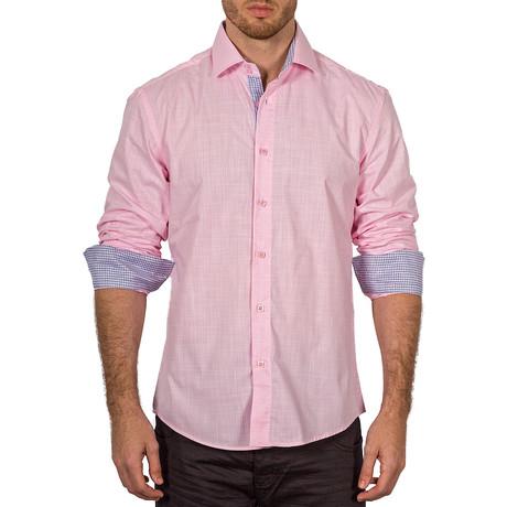 Joseph Button-Up Shirt // Pink