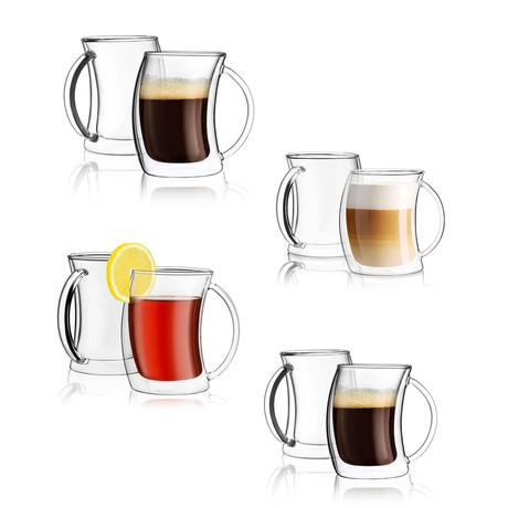 Caleo Insulated Glasses Collection Set