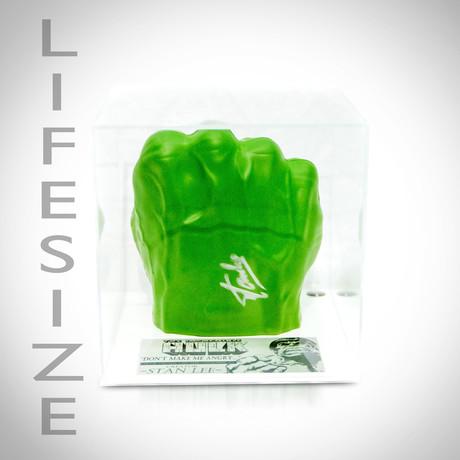 Hulk Fist Prop // Stan Lee Signed // Custom Museum Display