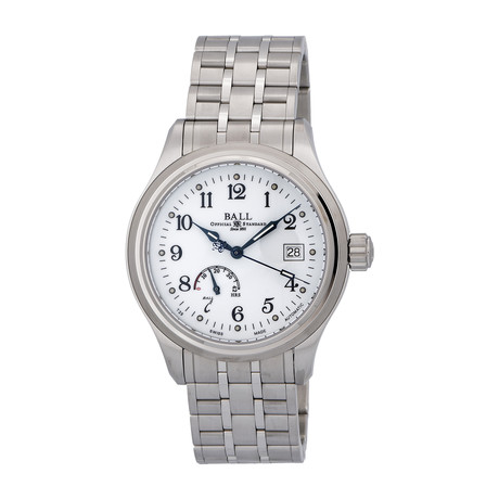 Ball Trainmaster Automatic // BC-000-NM1056D-S1J-WH