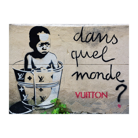 Poor Child Vs. Vuitton