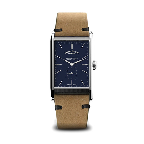 Armand Nicolet Manual Wind // 9680A-BU-PK4140CA