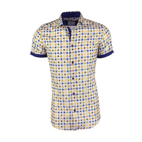Jack Button-Up Shirt // Yellow (L)
