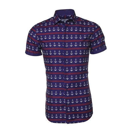 Cameron Button-Up Shirt // Multi