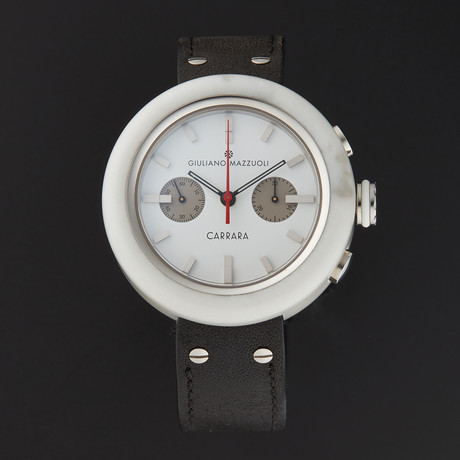 Giuliano Mazzuoli Carrara Chronograph Automatic // CRRAC07 // Store Display