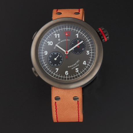 Giuliano Mazzuoli Manometro Chronograph Automatic // MCTGM04 // Store Display