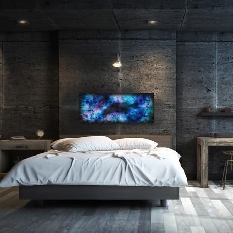 "Blue // Nebula (48""W x 19""H)"