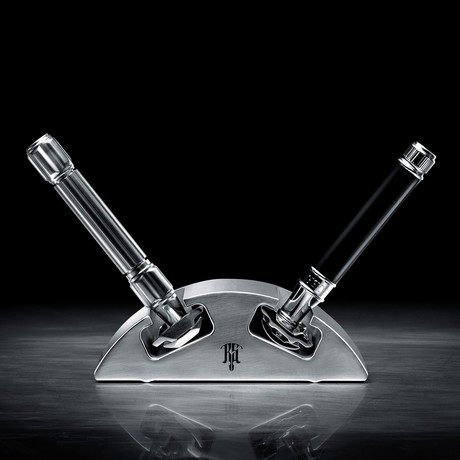 RS-7 // Dual Safety Razor Stand