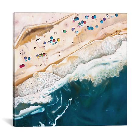 "Long Island Beach // Antony Squizzato (18""W x 18""H x 0.75""D)"