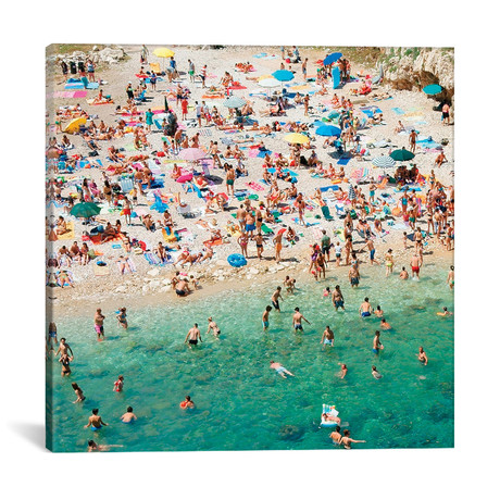 "Weekend At The Beach // Danita Delimont (18""W x 18""H x 0.75""D)"