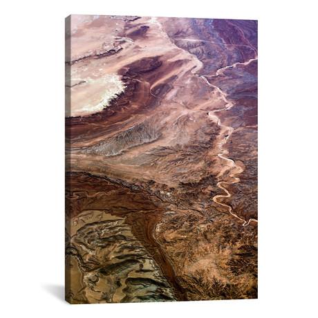 """Rocky Mountains // Elena Kulikova (26""""W x 18""""H x 0.75""""D)"""