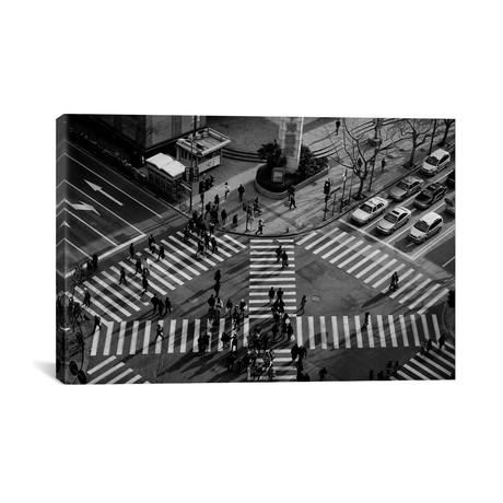 "Intersection // Crossing Alternatives // C.S.Tjandra (26""W x 18""H x 0.75""D)"