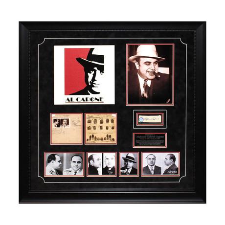 Al Capone // Signed Signature Collage
