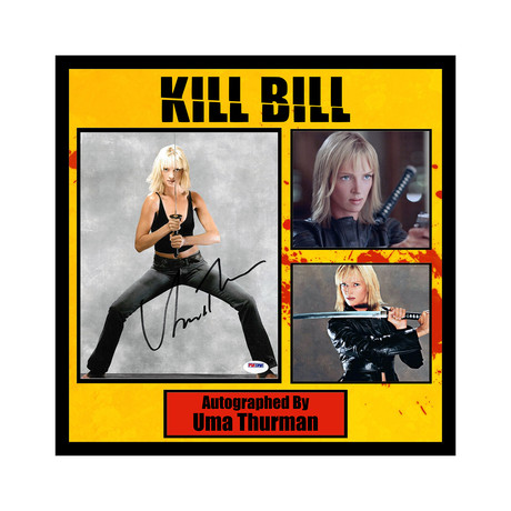 Framed Autographed Collage // Kill Bill