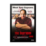 Signed Movie Poster // The Sopranos // Main Cast