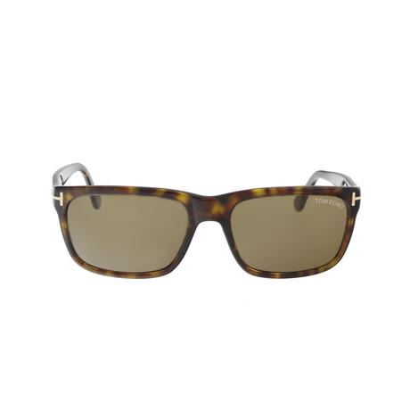 Men's Hugh Sunglasses // Havana + Brown