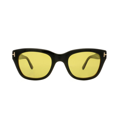 Men's Snowdon Sunglasses // Black + Green