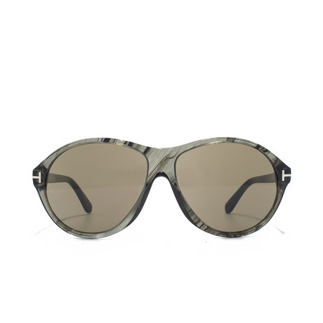 Tyler Sunglasses // Grey Marble