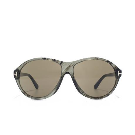 Tyler Sunglasses // Grey Marble