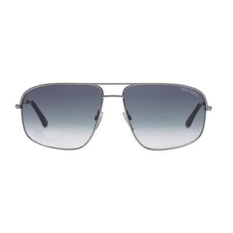 Justin Sunglasses // Silver