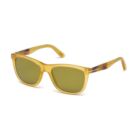 Men's Andrew Sunglasses // Honey + Green