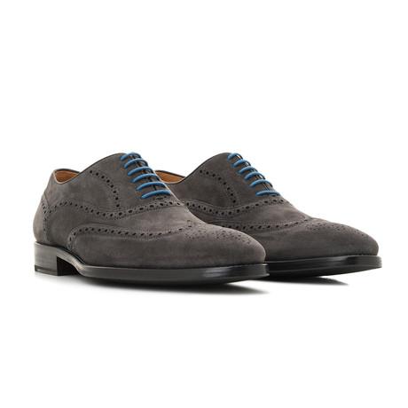 Oxford Suede // Gray + Blue (Euro: 39)