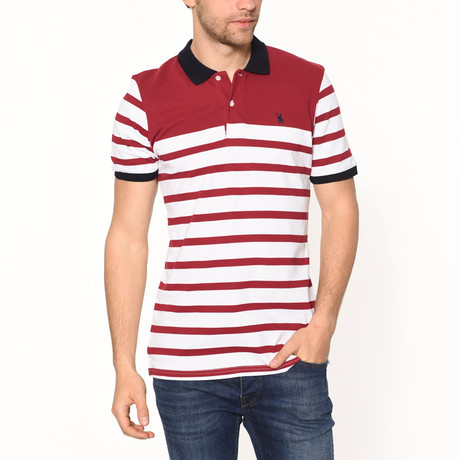 Polo Shirt // Red Stripe (S)