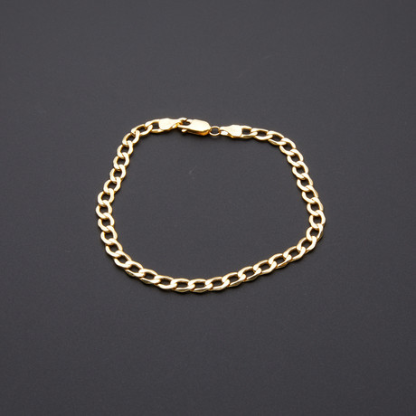 Cuban Chain Bracelet // 5mm