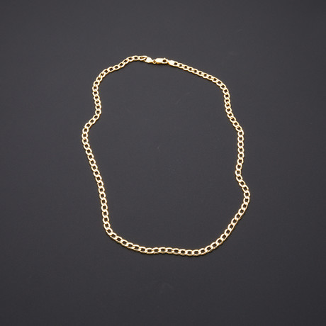 "5mm Cuban Chain Necklace (20"")"