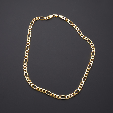 "Thick Figaro Chain Necklace // 8.3mm (20"")"