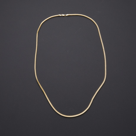 "2mm Franco Chain Necklace (22"")"