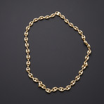 "Puff Anchor Chain Necklace // 9.5mm (24"")"