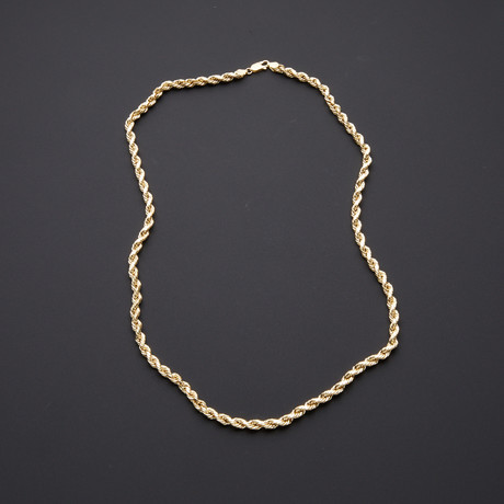 5mm Rope Chain Necklace