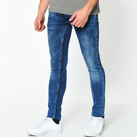 Prodigy Slim Fit Jeans // Acid Blue (31)
