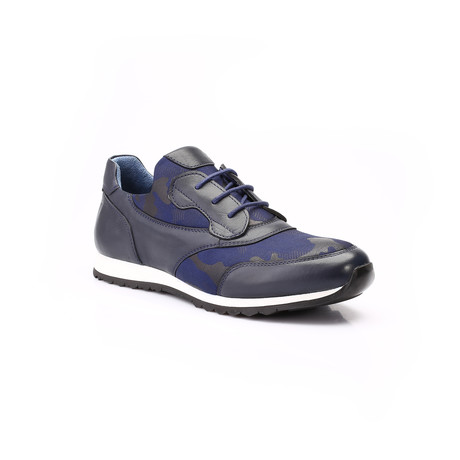 Bradley Shoe // Dark Blue