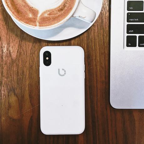 Latitude Case // White (iPhone 8)