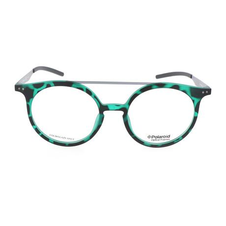 Unisex PLD D400-VZ7 // Green + Havana Ruthenium