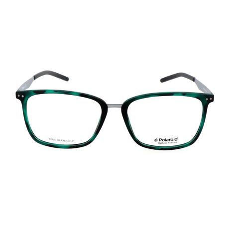 Men's PLD D402-VZ7 // Green + Havana Ruthenium