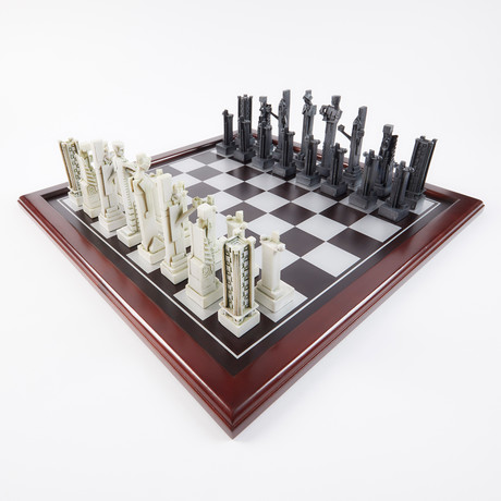 Midway Gardens Chess Set // Pieces Only