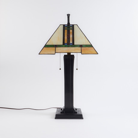 Mission Style Lamp III