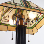 Mission Style Lamp II