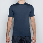 Sun T-Shirt Solar Protection // Blue Superb (S)