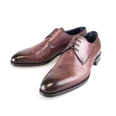 Good Year Welt Leather Oxfords // Brown