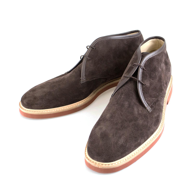 Ermenegildo Zegna // Suede Chukka Boots