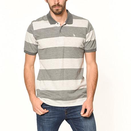 Polo // Gray Stripe (S)