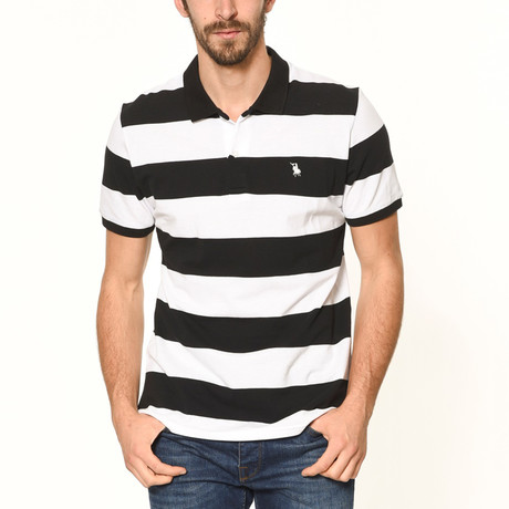 Polo // Black Stripe (S)