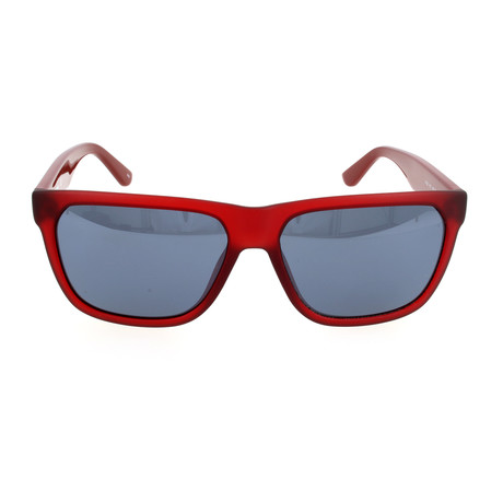Unisex L732S Sunglasses // Red Matte