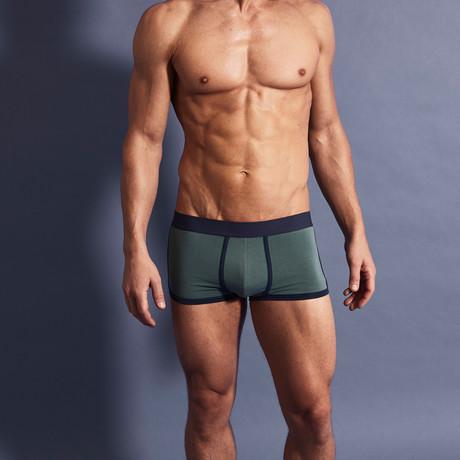 Boxer Briefs // Blue + Green