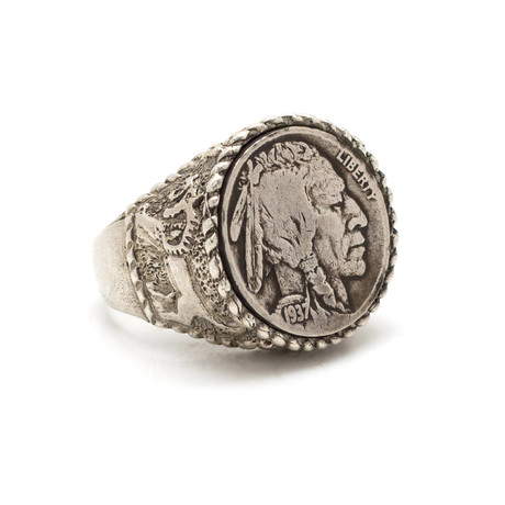 Buffalo Nickel Coin Ring